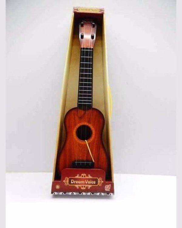 4 String Dream Voice Children Kids Guitar - Wooden Color