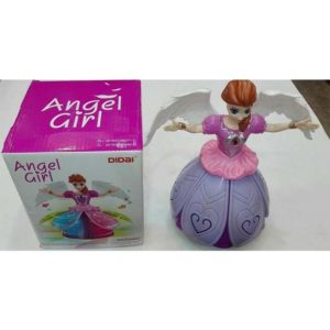 Beautiful Angel Girl Battery Operated Latest Design Doll Dance Toy For Kids