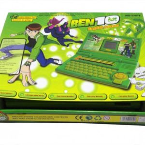 Ben 10 English Learner Laptop for Kids 20 Activities