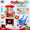 Cook Fun Kitchen! and Shopping Cart Set for Kids