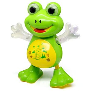 Dancing Frog with Music Flashing Lights and Real Dancing Action