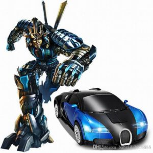 Deformation robot remote control car
