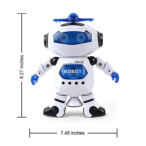 Digital Dancing Warrior Robot Toy