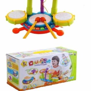 Drum Set for Kids - Multicolor