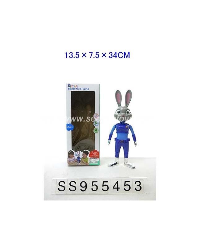 Electric Music Human Body Induction Interactive Rabbit | Subkuch.pk