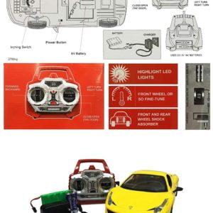 Ferrari 458 Italia Remote Control Car