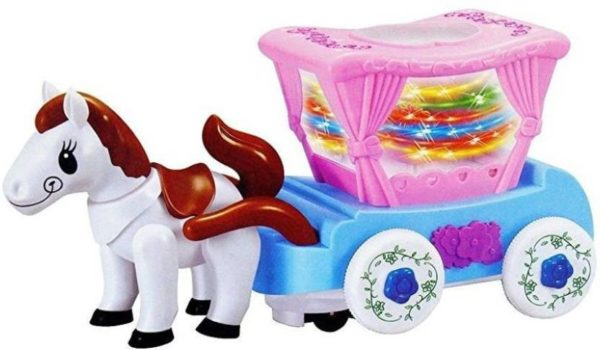 Flash Carriage Toy Horse