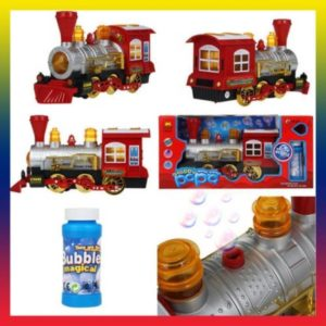 Happy Motion Train Papa Bubble Dispenser Train