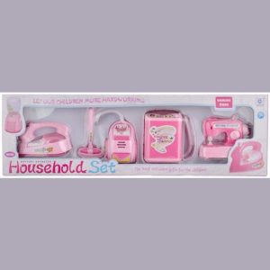 Mini Battery Operated 4 items Household Set