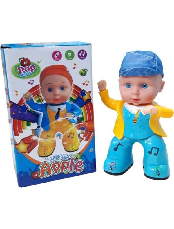 New electric toy small apple doll