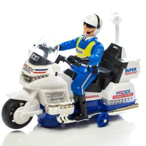Police Patrol Elite Electric RTR RC Motorcycle