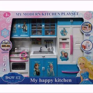 Snow Ice My Happy Kitchen - Modern Kitchen PlaySet FOR GIRLS