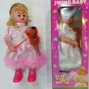 swing baby dolls baby angel violin doll