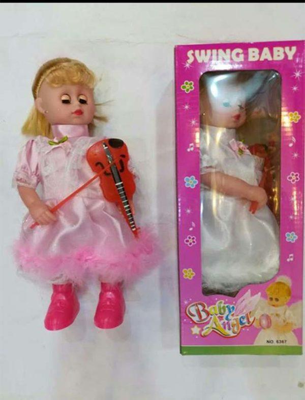 swing baby dolls baby angel violin doll