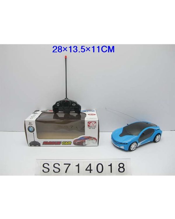 4-Way Lighting Remote Control Car