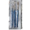 5Pcs Fine Artist Paint Brush Set - Blue