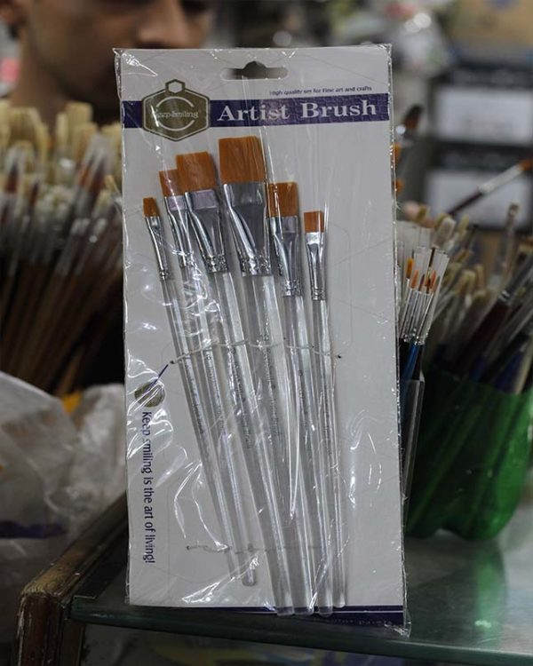 6 Stick Brush Set for Painters