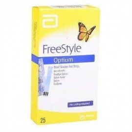 ABBOTT FREESTYLE OPTIUM TEST STRIP 50'S