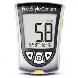 Abbot Free Style Optium Blood Glucose Monitoring System