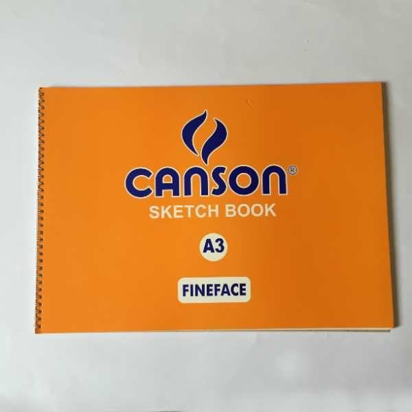 Canson Sketch Book A3 Fineface