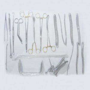 D & C Surgical Set