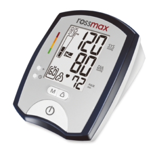 DELUXE AUTOMATIC BLOOD PRESSURE MONITOR -MJ701F