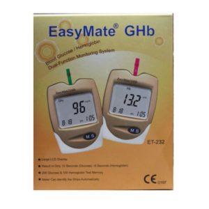 EasyMate GHb – 2 in 1 Glucose + Hemoglobin Meter