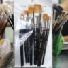 Elco 10 Pcs Artist Paint Brush - Black