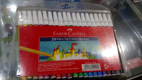 Faber-Castell Sketch Pens 45F (Pack of 20)