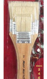 Mont Marte Paint Brush Set - Gesso Brush 3pc