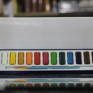 Polo 12 Pcs Watercolor Set in Plastic Case