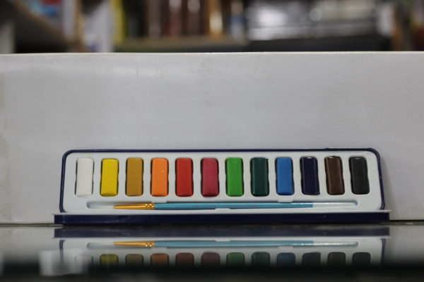 Polo 12 Pcs Watercolor Set in Plastic Case