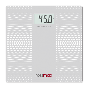 ROSSMAX GLASS PERSONAL SCALE – SUPER SLIM ELECTRONIC WB101