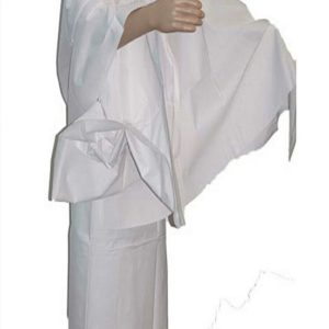 White Cotton Ehraam for Hajj Umrah