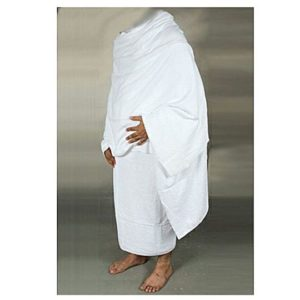 White Export Quality Towels Ehraam For Hajj Umrah