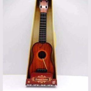 4 String Dream Voice Children Kids Guitar - Wooden Color