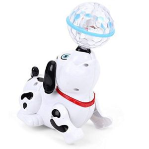 Dancing Dog With 3D Light