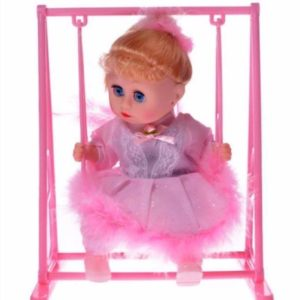 Moving Action & Musical Doll - Battery Operated