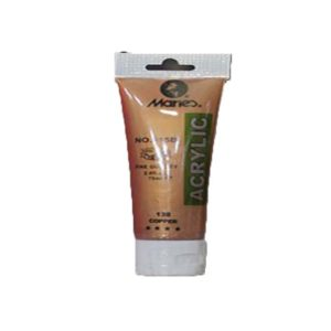 75ml Acrylic Paint Tubes - Copper