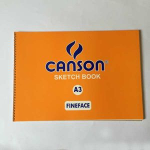 Canson Sketch Book A3 Fineface