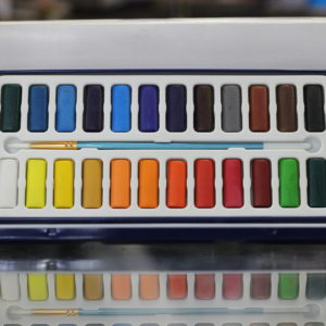Polo 24 Pcs Watercolor Set in Plastic Case